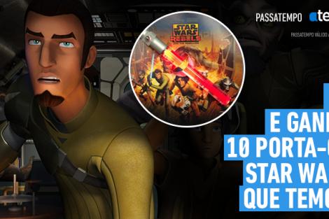 Passatempo Star Wars 21 Passatempo Atv/Disney Channel - Os Vencedores