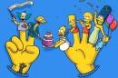 Simpsons 25 Aniversary «The Simpsons» Comemoram 25º Aniversário