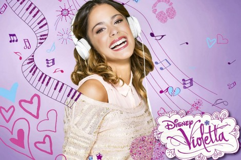 Violetta Violetta Em Destaque No Disney Channel