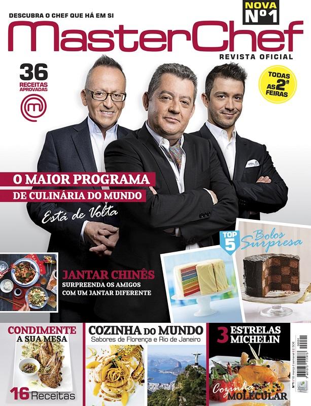 masterchef capa revista portugal