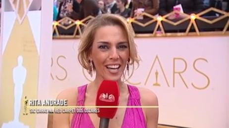 Rita Andrade Rita Andrade Volta A Assumir A Emissão Dos «Óscares» Em Los Angeles