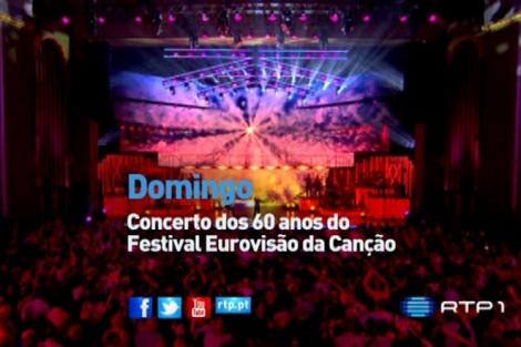 Festival 60 Anos Eurovisao Rtp Transmite Concerto Dos 60 Anos Do «Festival Eurovisão Da Canção»