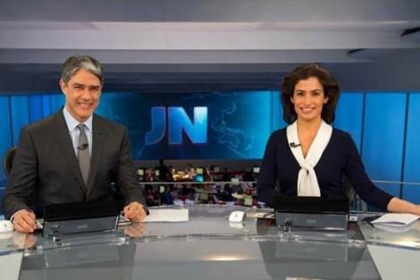 Jornal Nacional Globo «Jornal Nacional» Estreia Cenário Renovado