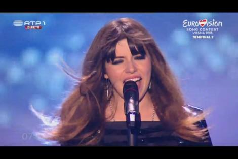 Leonor Andrade Leonor Andrade Desvaloriza O Resultado Obtido Na «Eurovisão»