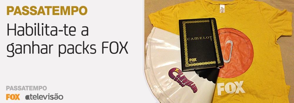 Passatempo 4 Anos Atv: Ganha Um De Dois Packs Da Fox Para O Verão