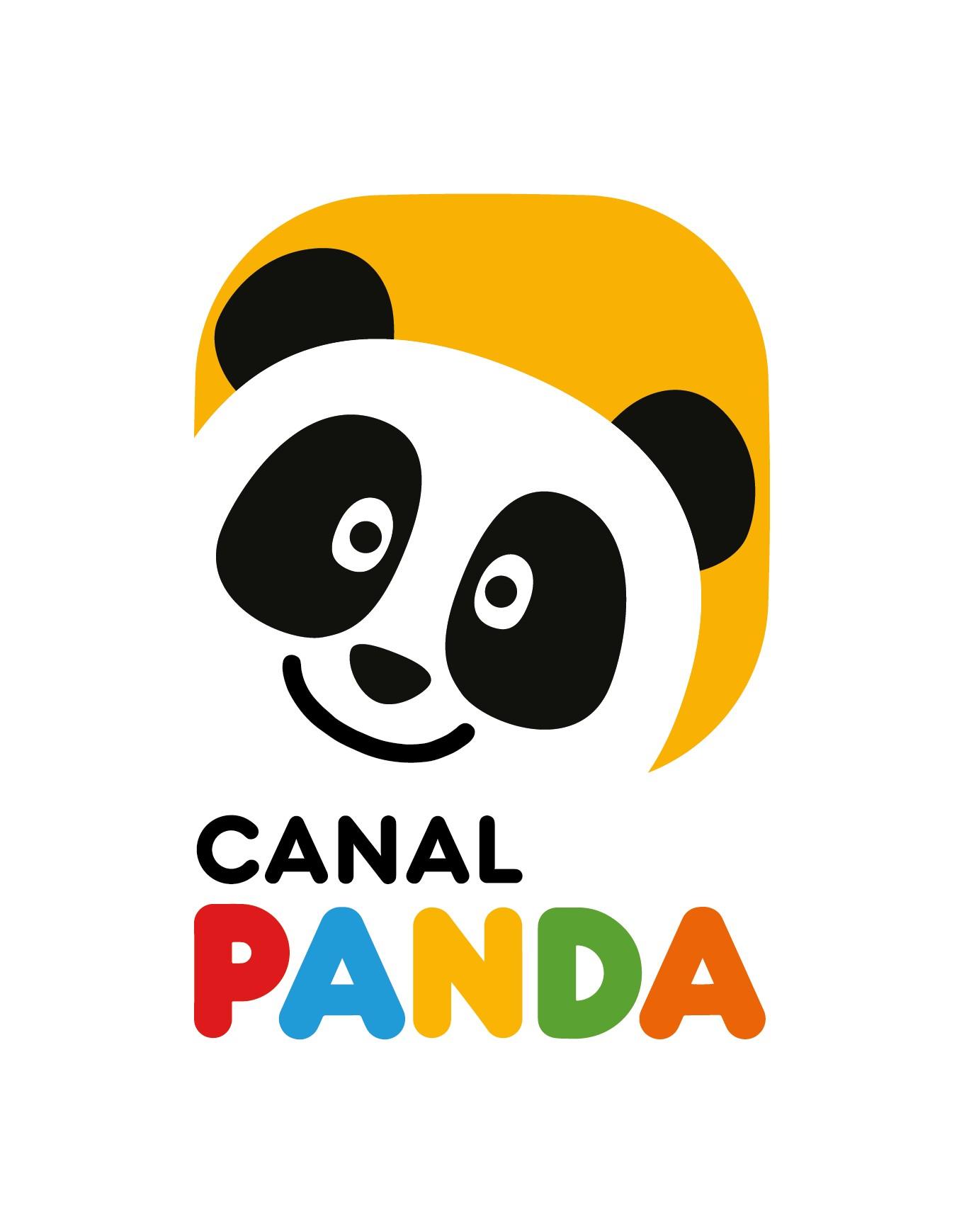 Logo Panda Vertical Canal Caja Canal Panda Estreia «Octonautas»