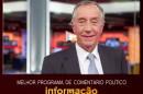 Marcelo Prémios Atv: Marcelo Rebelo De Sousa Sensibilizado Com Distinção [Vídeo]