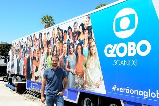 Verão Na Globo Ricardo Pereira Inaugurou Hoje A Iniciativa #Verãonaglobo