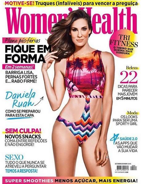 Capa da Women's Health Portugal