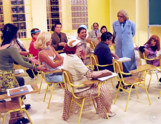 Globo  Escolinha 02  Gallefull.jpg Globo Aposta Em Remake De «Escolinha Do Professor Raimundo»