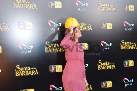 Benedita Pereira1 Afinal, «Santa Bárbara» Chega Mais Cedo Ao Ecrã