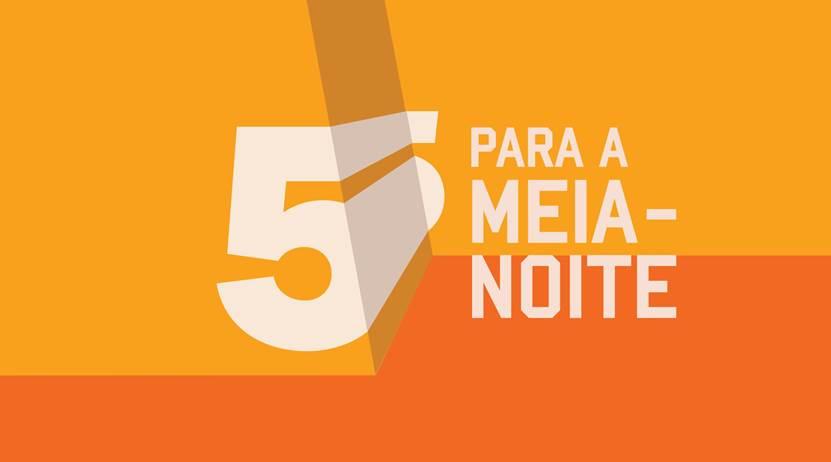 5 Para A Meia Noite Logo 2015 «5 Para A Meia-Noite» Termina Na Próxima Semana