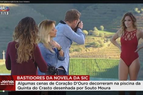 Cats6 Elenco De «Coração D'Ouro» Grava No Douro [Veja Os Bastidores]