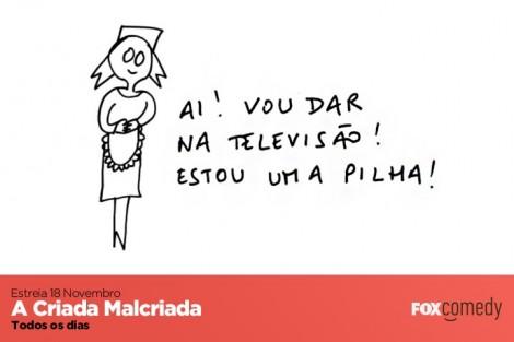 A Criada Malcriada Fox Comedy «A Criada Malcriada» Estreia Na Tv Com O Canal Fox Comedy