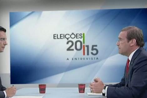 Pedro Passos Coelho Em Ambiente De Impasse Político, Pedro Passos Coelho É Entrevistado Na Rtp