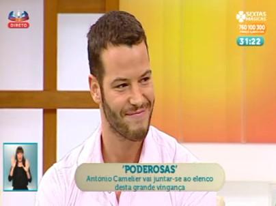 Antonio1 António Camelier Reforça Elenco De «Poderosas»