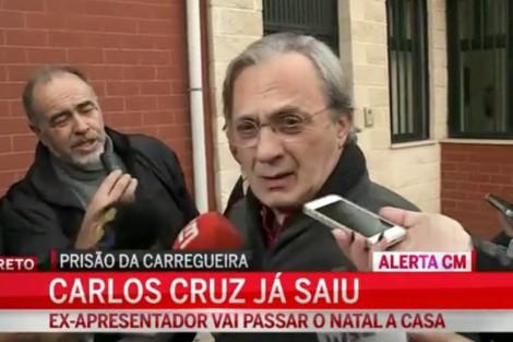 Carlos Cruz Carlos Cruz Já Saiu Da Prisão Para Passar O Natal Em Casa