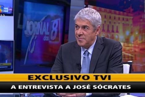 Entrevista Jose Entrevista A José Sócrates Rende À Tvi A Liderança Absoluta