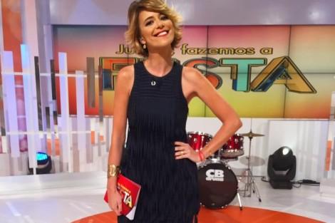Leonor E1453648618384 «Juntos Fazemos A Festa»: Leonor Poeiras Iguala Audiência De Teresa Guilherme