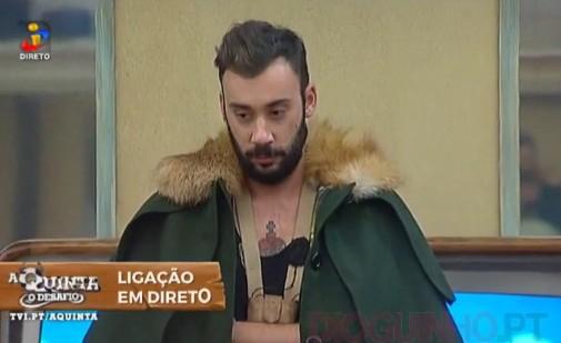 Pedro Pedro Capitão Expulso Do «Desafio» Por Agressão