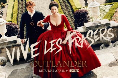 Outlander Season 2 Poster Jamie Claire Veja O Primeiro Teaser Da 3ª Temporada De «Outlander»