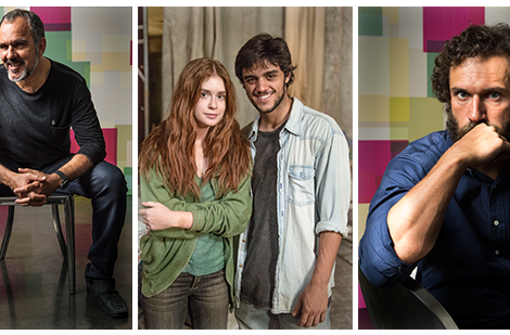 totalmente demais fotos «Totalmente Demais»: Mesa Redonda com Marina Ruy Barbosa, Felipe Simas, Paulo Rocha e Humberto Martins