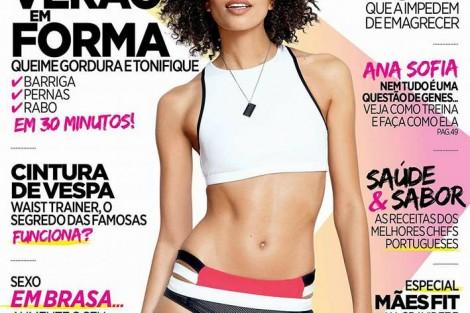 Ana Sofia Martins Womens Health Ana Sofia Martins É A Capa Da Revista Women'S Health. Veja O Making Of.