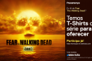 Passatempo Fear The Walking Dead 2 Vencedores - 6 T-Shirts De «Fear The Walking Dead»