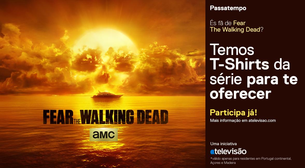 Passatempo Fear The Walking Dead 2 Passatempo: 6 T-Shirts De «Fear The Walking Dead»