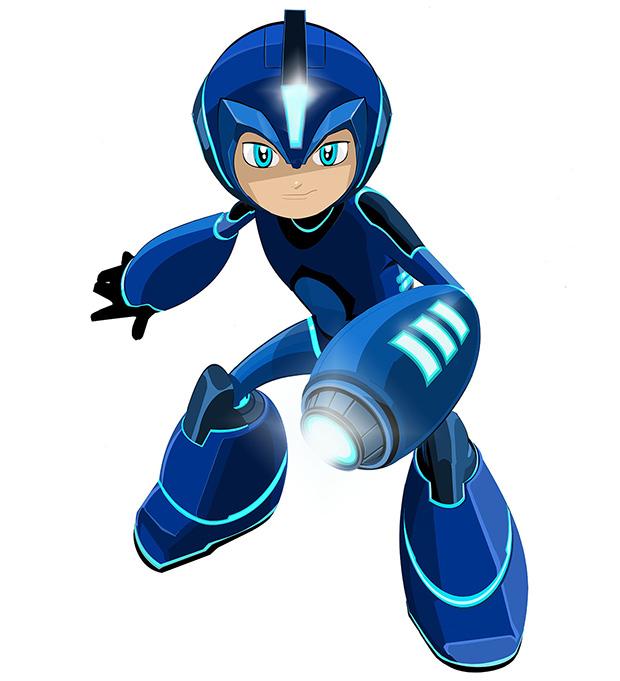 Mega Man New Look «Mega Man» Celebra 30 Anos Com Nova Série. Veja A Primeira Imagem