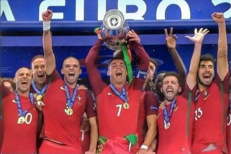 Portugal Campeão Vitória De Portugal No Euro 2016 Atinge 4,5 Milhões De Telespectadores