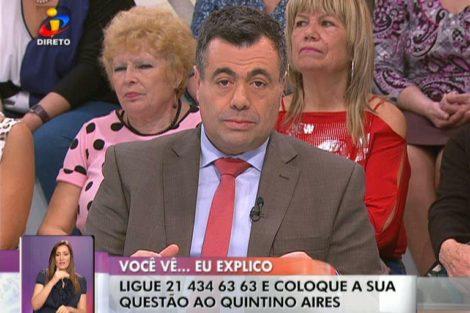 Quintino Aires «Você Na Tv!»: Quintino Aires Acusado De Promover Racismo Em Direto