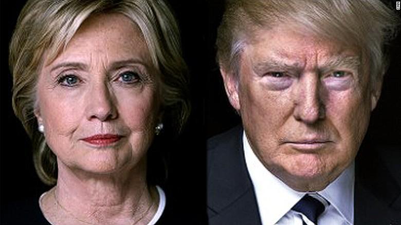 Clintontrump Candidatos À Casa Branca Gastam Menos Em Publicidade Televisiva