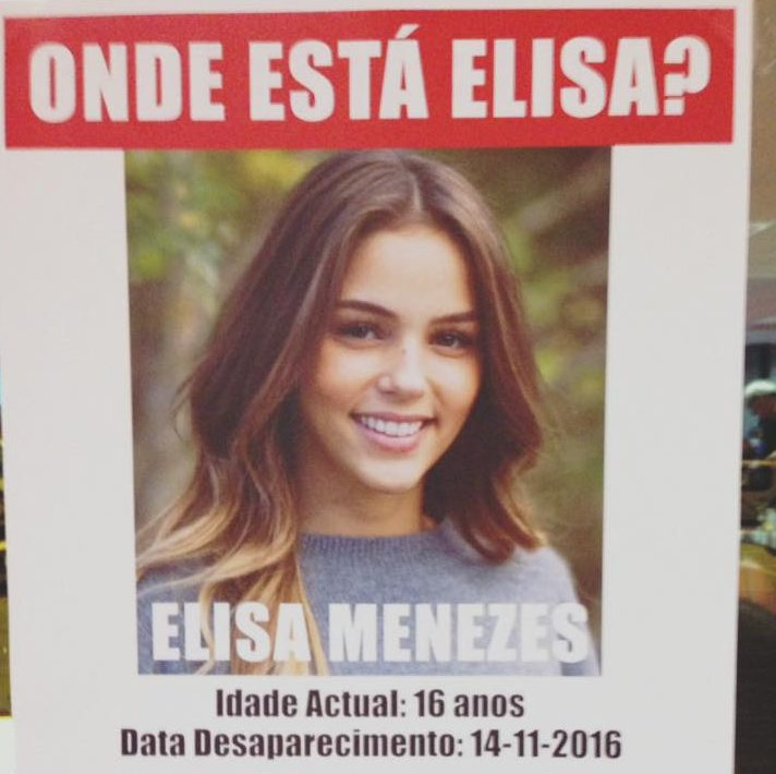 Onde Esta Elisa E1479218425929 «Onde Está Elisa?» É A Nova «Tele-Série» Da Tvi