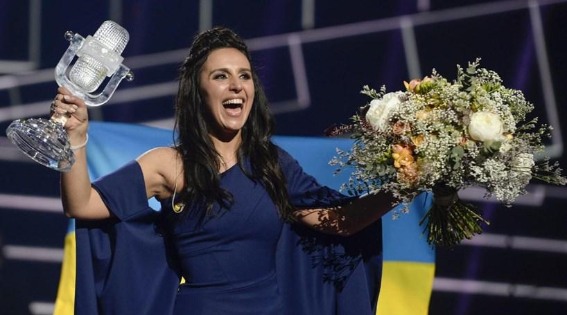 Jamala, representante da Ucrânia, venceu a Eurovisão 2016