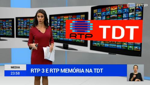 Tdt Rtp 3 E Rtp Memória Já Estão Na Tdt