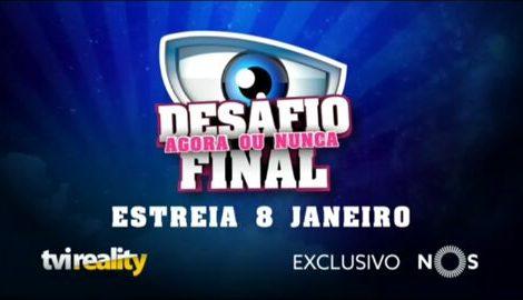 Df «Desafio Final - Agora Ou Nunca»: Reality Show «Sai Mais Barato Do Que Outro Programa» À Tvi
