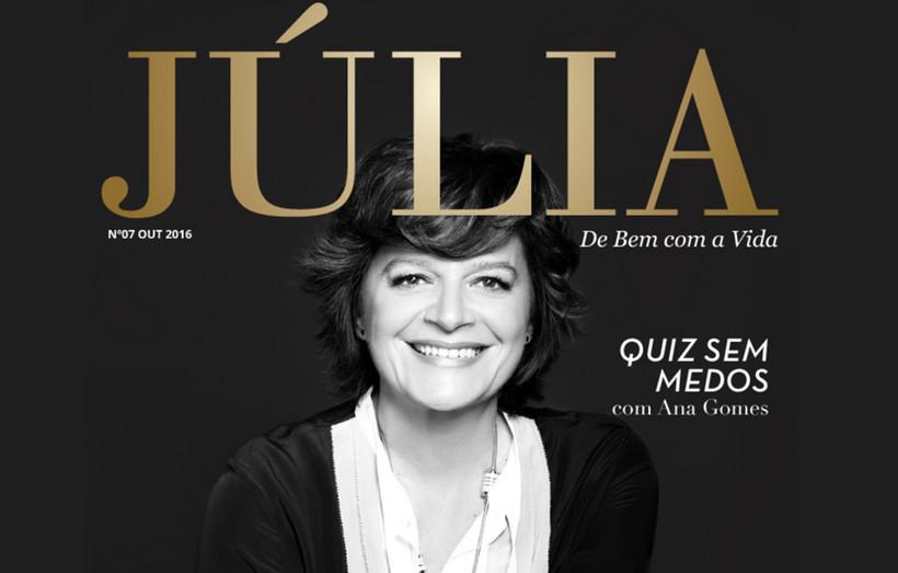 Julia Revista Digital De Júlia Pinheiro Integra Portefólio Do Grupo Impresa