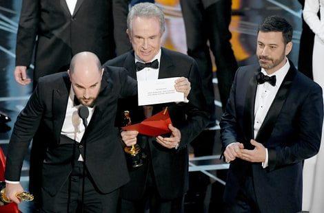 Moonlight Mistake La La Land Oscars 2017 4C9F107A C74F 4680 91Fd 44A0Df7Cd59C Erro Histórico Marca 89ª Cerimónia Dos Oscars