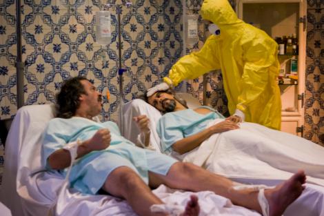 ministerio Mortífera epidemia do século XX chega ao «Ministério do Tempo»
