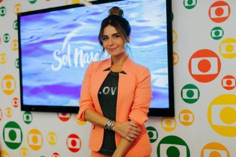 Giovanna Giovanna Antonelli Promove «Sol Nascente» Em Portugal