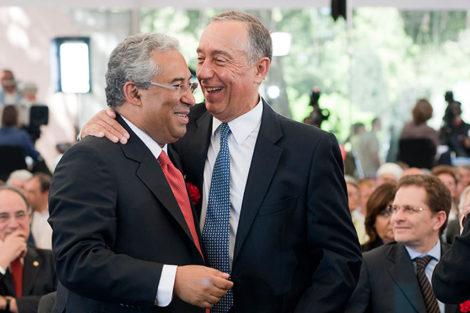 Marcelo Presidente Da República E Primeiro-Ministro Português Felicitam Salvador Sobral Pela Vitória