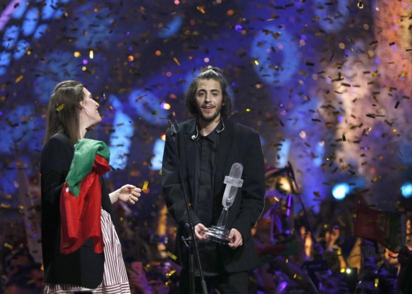Salvador Vencedor Vitória De Portugal Na «Eurovisão 2017» Dá À Rtp 1 A Melhor Audiência Dos Últimos Anos
