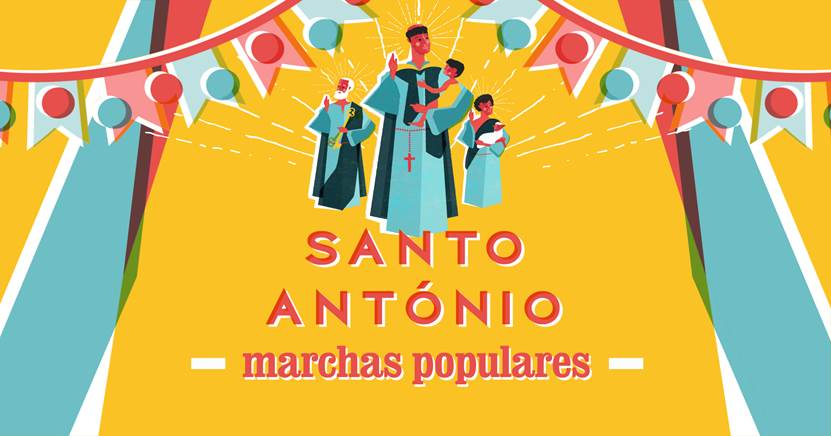 marchas populares Festividades dos Santos Populares começam esta segunda-feira na RTP 1
