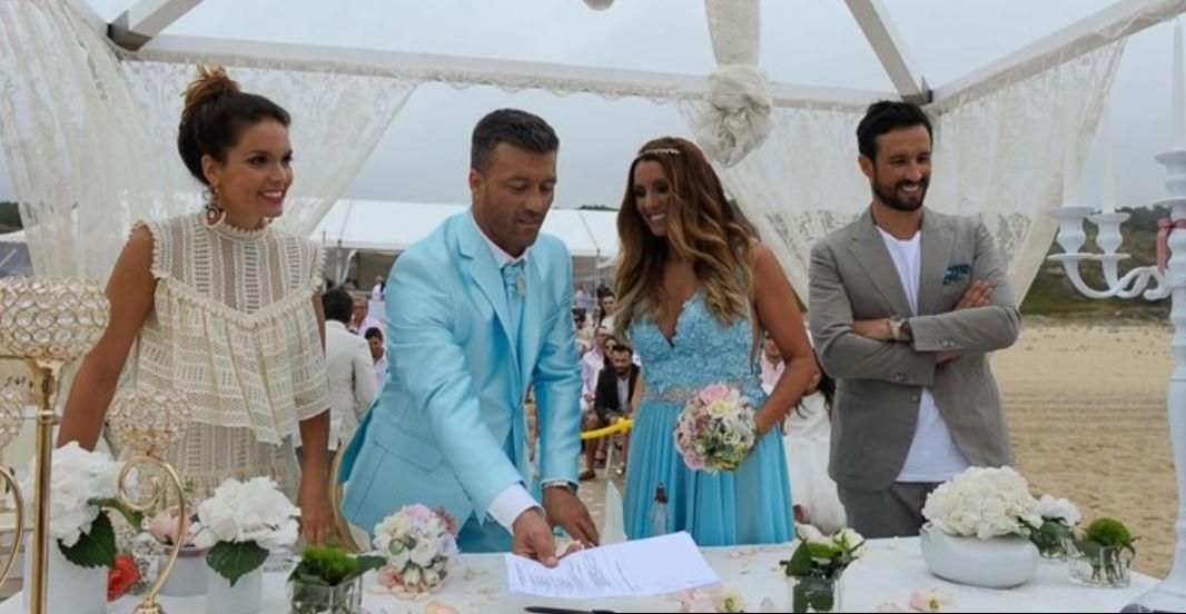 Marina Santiago Casamento Marina Santiago Casou-Se E Diana Chaves Foi A Madrinha