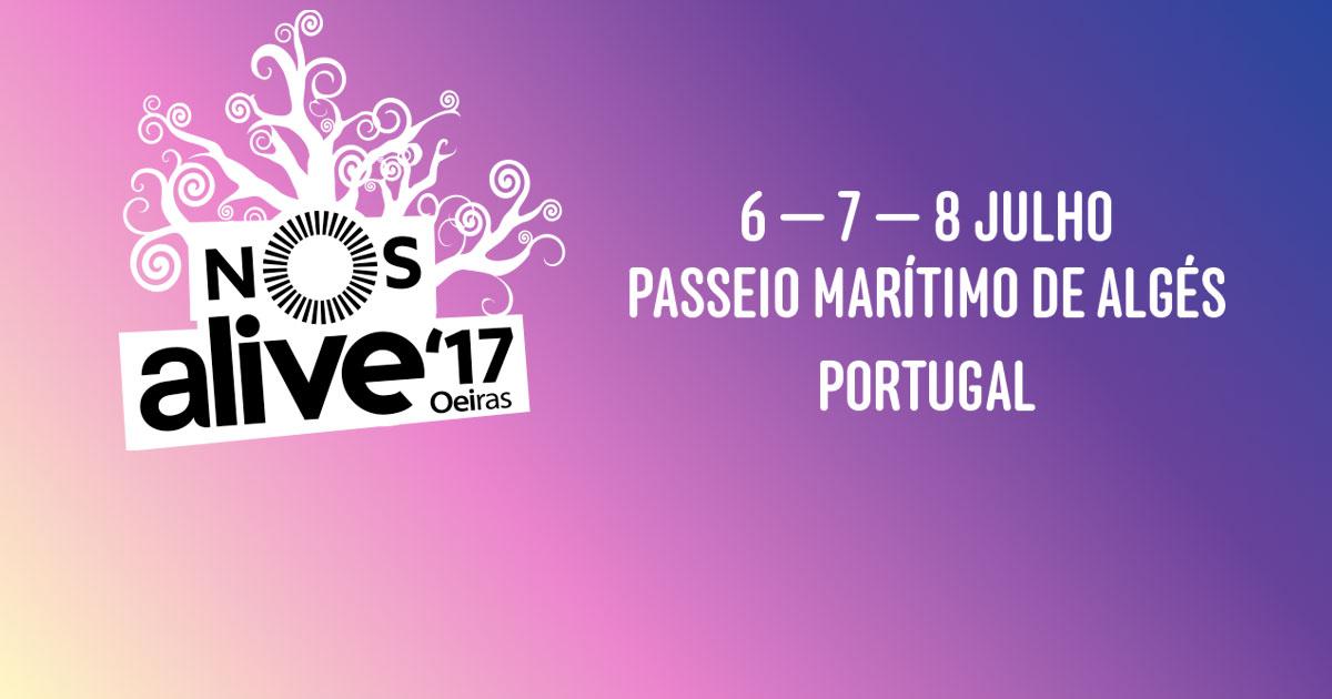 Nos Alive 2017 Topo 41 Rtp É A Televisão Oficial Do Nos Alive 2017