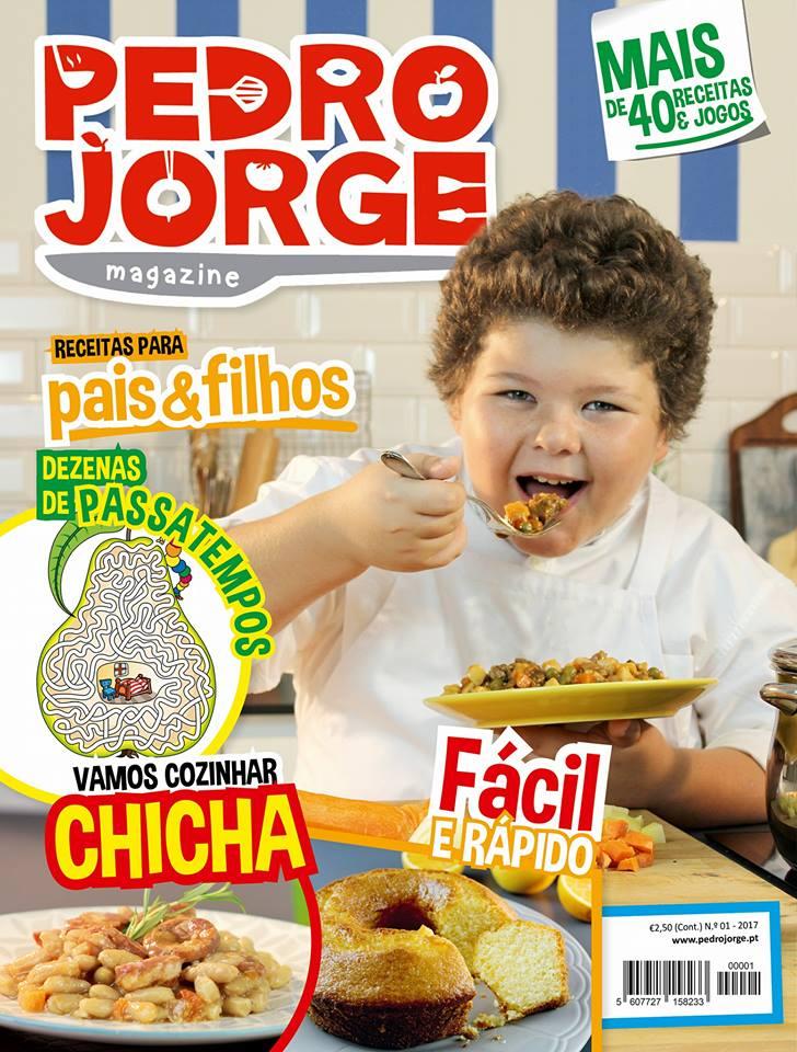 Pedro Jorge Magazine Pedro Jorge Do «Masterchef Júnior» Lançou Revista