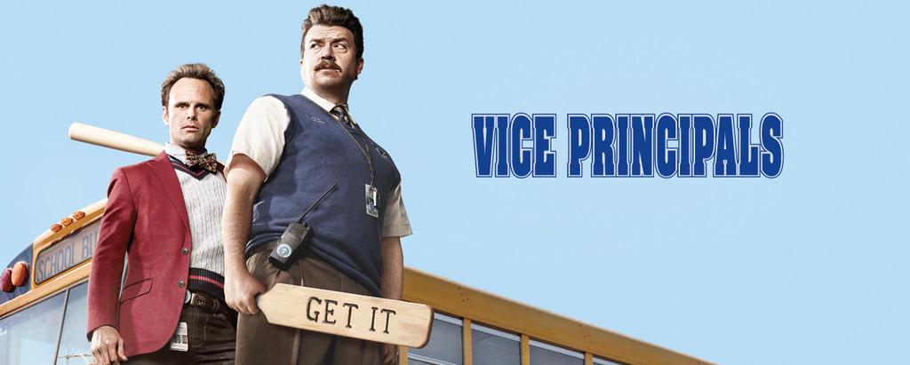 Vice Principals «Vice Principals» Regressa Hoje Ao Tvséries Em Estreia Mundial