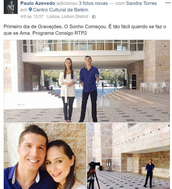 Paulo Azevedo Paulo Azevedo Estreia-Se Como Apresentador