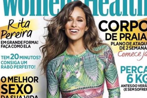 Rita Pereira Rita Pereira É Capa De Livro Para A América Latina